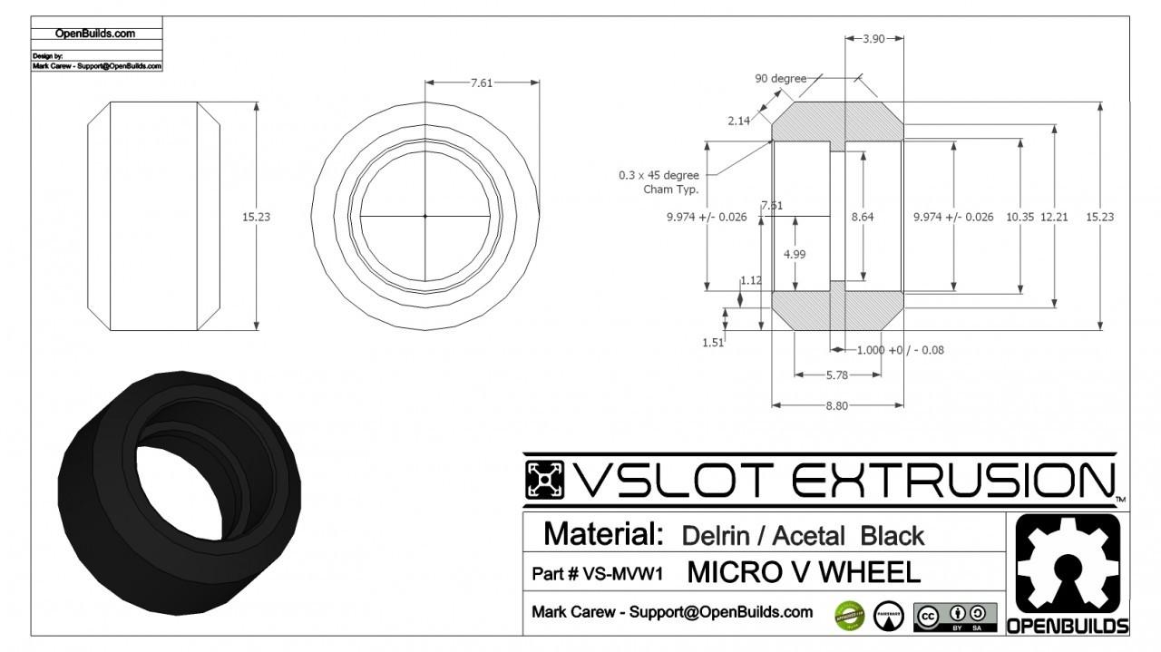 Xtreme Mini V Wheel Kit Maker Store Usa